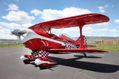 This Pitts just refurbished by Aviat Co.