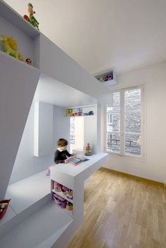 Eva's Bed  Modern kids room interior design idea