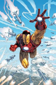 Iron Man -Been reading the comic for many years, way before the first movie. And the movies are great.
