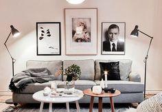 33 Scandinavian Living Room Designs Ideas To Autumn Inspire Scandinavian Style Home, Scandinavian Interior Design, Scandinavian Living, Nordic Design, Scandinavian Apartment, Monochrome Interior, Scandi Style, Modern Interior, Living Room Interior