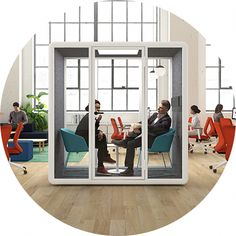Refurbished Phone Exchange #cellphoneaddiction #RefurbishedPhones Workspace Design, Office Interior Design, Office Interiors, Open Office Design, Office Designs, Refurbished Phones, Office Pods, Creative Office Space, Booth Design