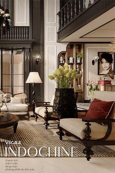 Indian Home Interior, Asian Interior, Classic Interior, Interior Exterior, Home Interior Design, Interior Architecture, British Colonial Decor, Classic Living Room, Arquitetura