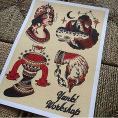 Flash by @yanki_workshop #trflash#traditional_flash#tattoo#tattooflash#traditional#traditionaltattoo#traditionalflash#tattooart#flash#art#illustration#drawing