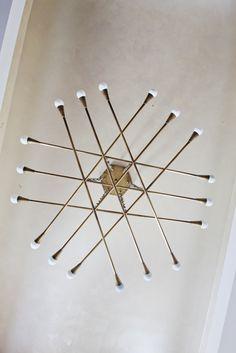 Chandelier design by Raphael de Cardenas, AAL / fabrication by Argosy Designs