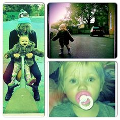 Lou and Lux (Tom Atkin 's instagram)
