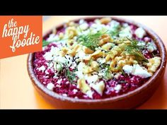 Beetroot Borani - The Happy Foodie