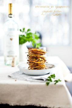 Frittelle di Spaghetti (Spaghetti Fritters) : Playful Cooking