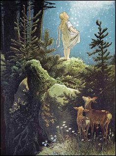 Viktor P. Mohn - Lluvia de estrellas, 1882