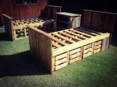 Twin Pallet Bed With Storage Google Search