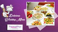 """There is no love more sincere than the love for food..."" StarWeddings understand this thought perfectly. That is why we are the best caterers in India for you on your big day! Call us for the Best food services !! ‪#‎StarWeddings‬ We are the ‪#‎Superstar‬ in weddings . call us at +919600006335 to hire us / visit www.starweddings.in"