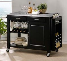 Island on wheels for kitchen?