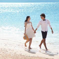 綺麗な海をバックにウェディングフォトを撮りたい花嫁さんの夢を叶える地、沖縄♡国内リゾートでの結婚式一覧♡ウェディング・ブライダルの参考に!