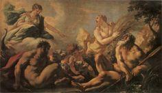 Giovanni Antonio Pellegrini, Allegoria dei quattro elementi, c.  1718