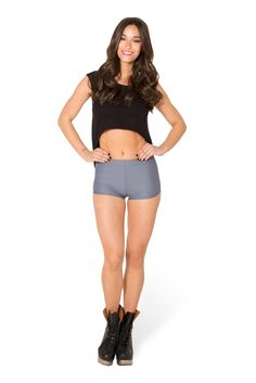 Matte Grey Bummers (WW $30AUD / US $25USD) by Black Milk Clothing