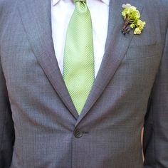 Liking the green tie