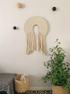Nova | Handmade Fiber wall art | Macramé art | Contemporary wall art | Wall hanging | Wall Tapestry | Fabric wall art | Modern fiber art