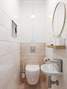 Space-saving toilet design for small bathrooms - Home to Z. Space-saving toilet design for small bathrooms - Home to Z. smalltoiletroomsmalltoiletroomSpace-saving toilet design for small bathrooms - at home for Z Space-saving toilet design for Small Toilet Design, Small Toilet Room, Modern Bathroom Design, Bathroom Interior Design, Bathroom Designs, Modern Design, Modern Powder Rooms, Modern Small Bathrooms, Bathroom Small