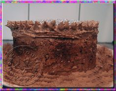 #casa #festas Bolo chiffon de chocolate