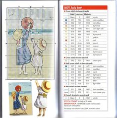 ru / Фото - The world of cross stitching 172 + приложение 2011 All Our Y - Chispitas Dmc Cross Stitch, Cross Stitch Cards, Cross Stitch Baby, Cross Stitching, Cross Stitch Gallery, Cross Stitch Pictures, Cross Stitch Designs, Cross Stitch Patterns, Little Stitch