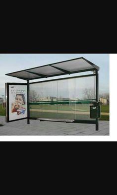 Bus stop-parada de autobus