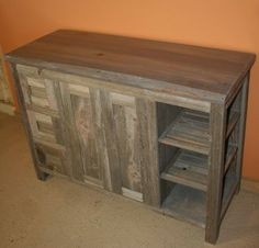 Reclaimed Barn Wood Bathroom - traditional - bathroom vanities and sink consoles - other metro - Vienna Woodworks