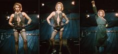 Tim Curry as Frank in the original Rocky Horror production (Royal Court Theatre Upstairs, London)