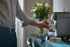 Enjoy a freshly brewed ‎espresso‬ shot in the privacy of your Executive Room with our ‪Nespresso‬ ‪coffee‬ facilities! Get your coffee drinking on! #London #hotel #kensington #accommodation #executive #business #travel