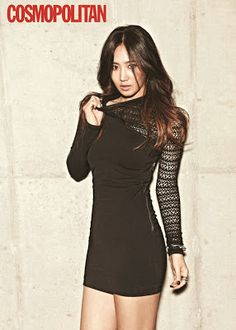Yuri SNSD Girls' Generation - Cosmopolitan Magazine November Issue 2013