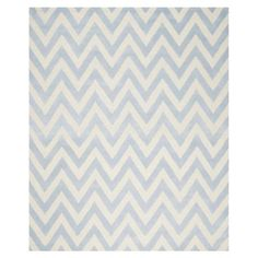 Stella Textured Area Rug, Light Blue/Ivory - Choose Size | ACHICA