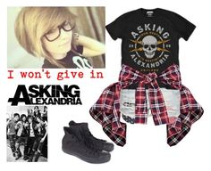 """""""{ I won't give in: Asking Alexandria }"""" by that-weirdo987 ❤ liked on Polyvore featuring Converse, lyrics, askingalexandria, AA and music4lyfeee"""
