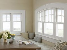 Without saying a word, windows subtly speak volumes. Choosing windows that support the desired look and feel creates a cohesive aesthetic. Check out these stunning examples of how each home's windows contribute to the design style of each space.