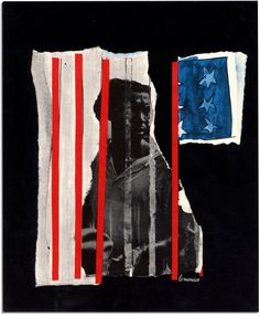 4/6 Louis Lo Monaco, Aug. 28, 1963, 'We Shall Overcome'', First Edition Portfolio, From the ''March on Washington'', Collages Issued by the National Urban League as a Memento for Marchers. When religious and patriotic are used as a shield by hate-makers, our Democracy and all it stands for becomes a mockery.