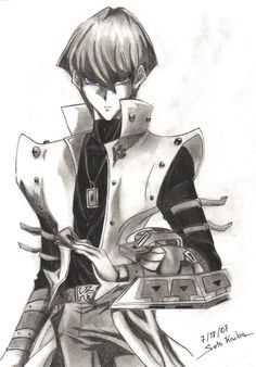 Just what I've always wanted. A seto Kaiba drawing of incredible accuracy!
