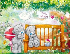 Diamond embroidery cartoon for children landscape Diamond painting full square mosaic pictures Cross Stitch Sets embroidery kits Tatty Teddy, Cute Images, Cute Pictures, Teddy Beer, Das Abc, Teddy Bear Pictures, Simons Cat, Bear Graphic, Blue Nose Friends