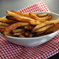 Healthy French Fries by mywholefoodlife