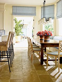 The Enchanted Home: Coastal Living...kitchen pretty colors