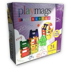 Playmags-24 pièces
