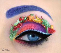 Comparte esta historia ¡Extraordinario maquillaje para ojos! ¡Tienes que verlas! La 8va es la mejor
