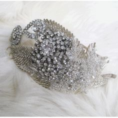 Donna Crain Gabriel Vintage Hollywood Glamour Wedding Headband
