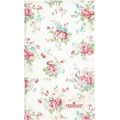 GreenGate Tea Towel - Abelone White