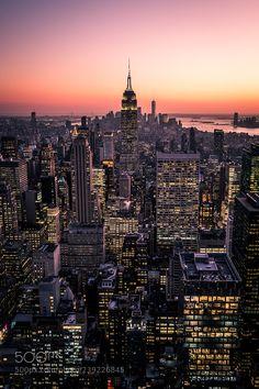 Manhattan at sunset - New York - Cityscape photography New York NYC New York City Travel Honeymoon Backpack Backpacking Vacation New York Wallpaper, City Wallpaper, New York Life, Nyc Life, City Life, Cityscape Photography, City Photography, New York Photographie, New York Cityscape