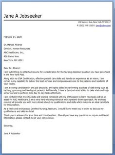 Registered Nurse Cover Letter Sample   Haerve Job Resume Scribd