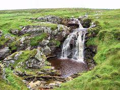 Waterfall at Kintra, Isle of Islay