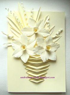 МК по открытке к 8 марта от дизайнера Andrianna | Bantik.net - скрапбукинг, полимерная глина, мыловарение и другие хобби