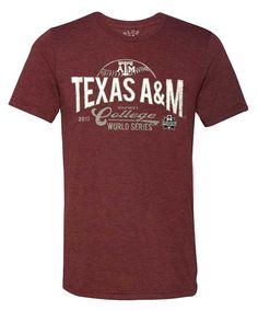 171afc7635a Texas A M Aggies Blue 84 Absolute 2017 Men s CWS Tri-Blend Tee