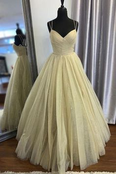 Women's Prom Dresses Tulle Evening Formal Dresses H3906 by Fashiondressy, $143.10 USD The Dress, Dress For You, Dress Long, Glitter Prom Dresses, Prom Dresses Online, Dress Online, Plus Prom Dresses, Grad Dresses, Dress Prom