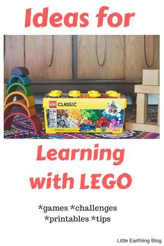 Keep Building: Ideas for Learning with LEGO @LEGO #ad #keepbuilding