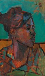 Untitled (Portrait of a Young Black Woman)-