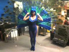 Full Blown Peacock Costume...fabulous...but really?!?!