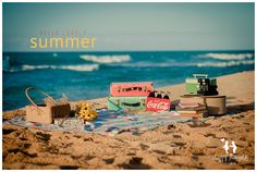 Hello Summer photography idea by Happy Thoughts Studio